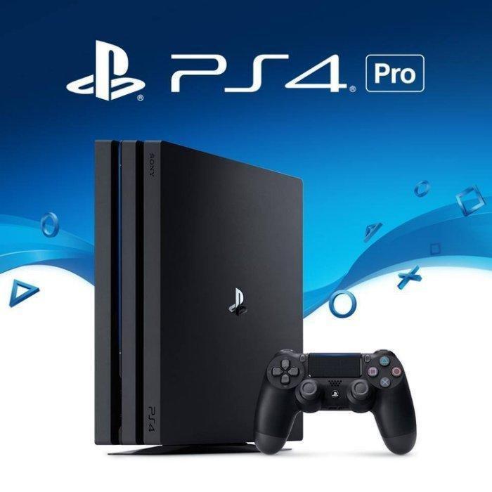 【嚴選電玩】PS4 PRO 1TB 極致黑色 7218型 全新未拆 臺灣公司貨保固一年 另售雙手把組   蝦皮購物