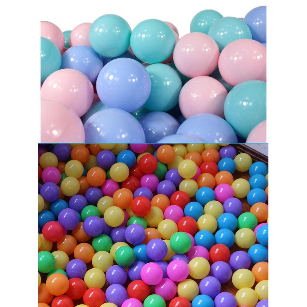 加厚 海洋球 波波球 混色 馬卡龍色 寶寶玩具球池 泡泡球 球池 ...