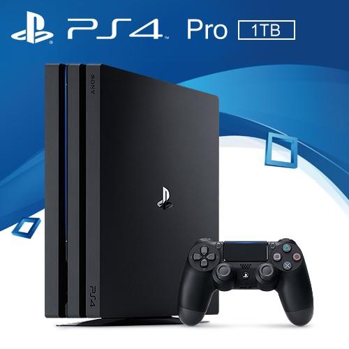 【SONY索尼】 PS4 Pro 1TB 主機 極致黑 臺灣公司貨 | 蝦皮購物