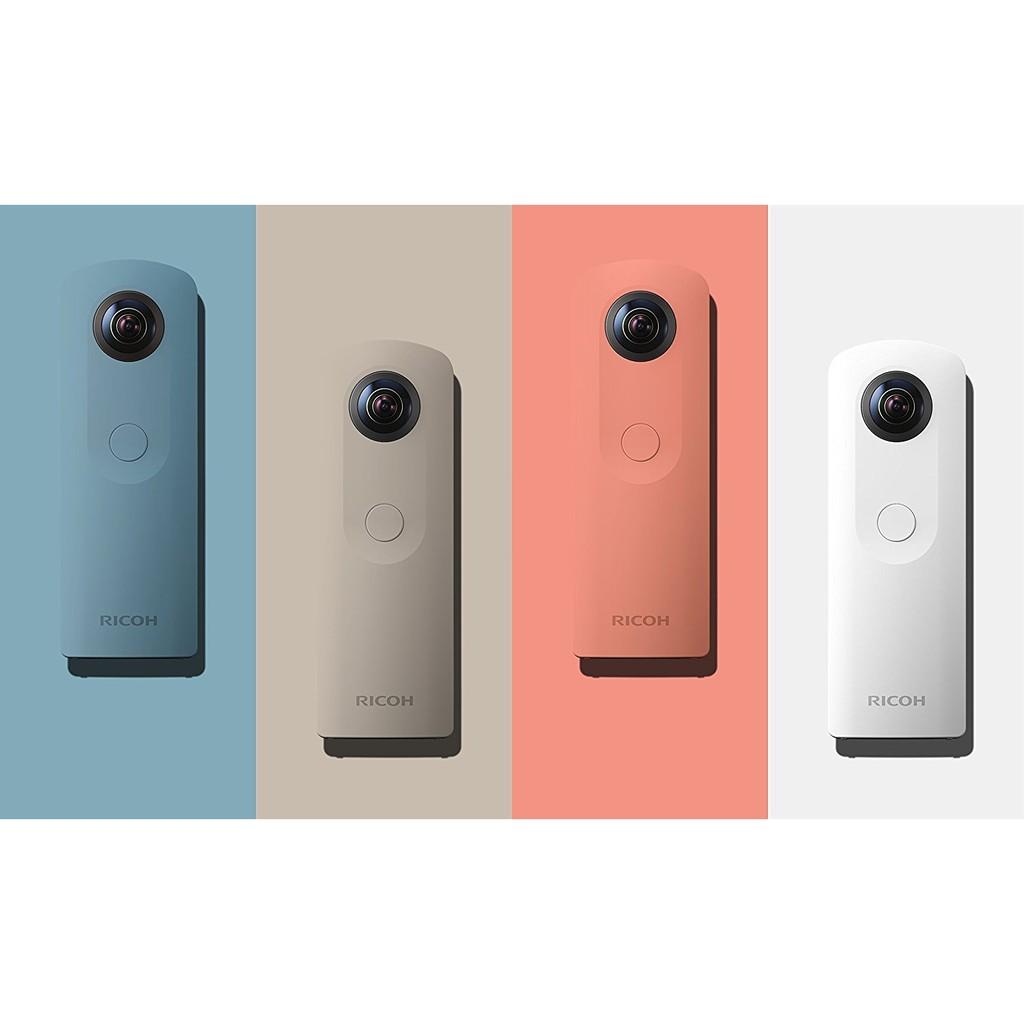 【竭力萊姆】預購 一年保固 RICOH THETA SC 超廣角相機 全景攝影機 360度拍攝 VR 虛擬實境 | 蝦皮購物
