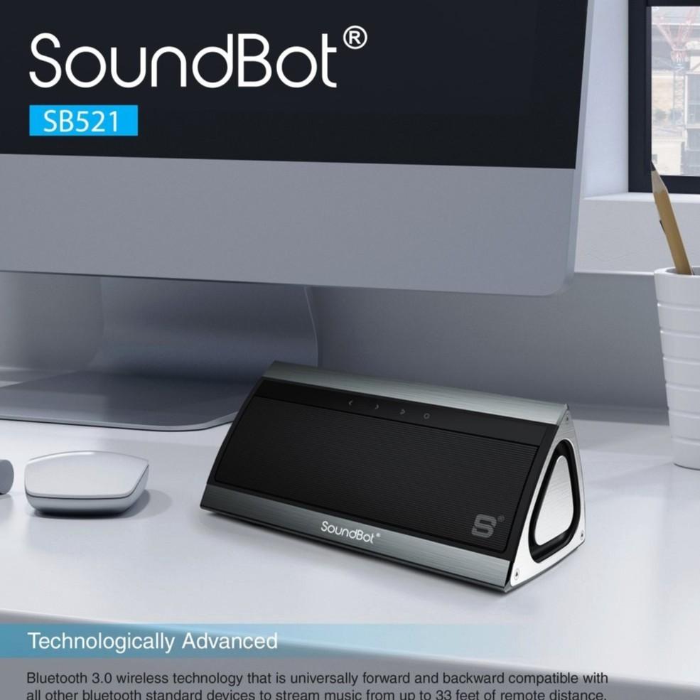美國人氣推薦 鋁合金無線 觸控環繞 SoundBot SB521 藍芽喇叭音響 電腦喇叭 藍牙喇叭重低音   蝦皮購物