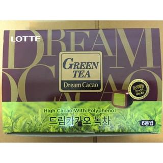 現貨 韓國 LOTTE 限定樂天抹茶骰子巧克力 抹茶巧克力 | 蝦皮購物