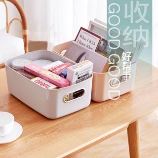 雜物收納筐 北歐風 學生桌面 零食儲物盒 日式 塑料 化妝品收納盒 家用廚房 整理盒子 置物盒 雜物收納 | 蝦皮 ...