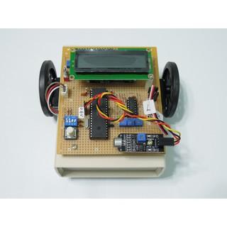 [89創客] 伺服馬達自走車B_聲控版 (MICROCHIP專題製作) MAKER作品 | 蝦皮購物
