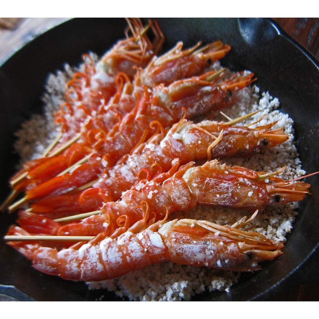 【一井水產】阿根廷 船凍 活凍 生食級 L1天使紅蝦 2公斤/盒 約30-35尾 | 蝦皮購物