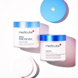 Medicube 毛孔爽膚棉 2.0版 溫和版 攜帶盒 毛孔深層潔面刷   蝦皮購物