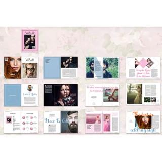 293 套 InDesign 雜誌,包括:indesign模板素材,平面設計排版模板 | 蝦皮購物