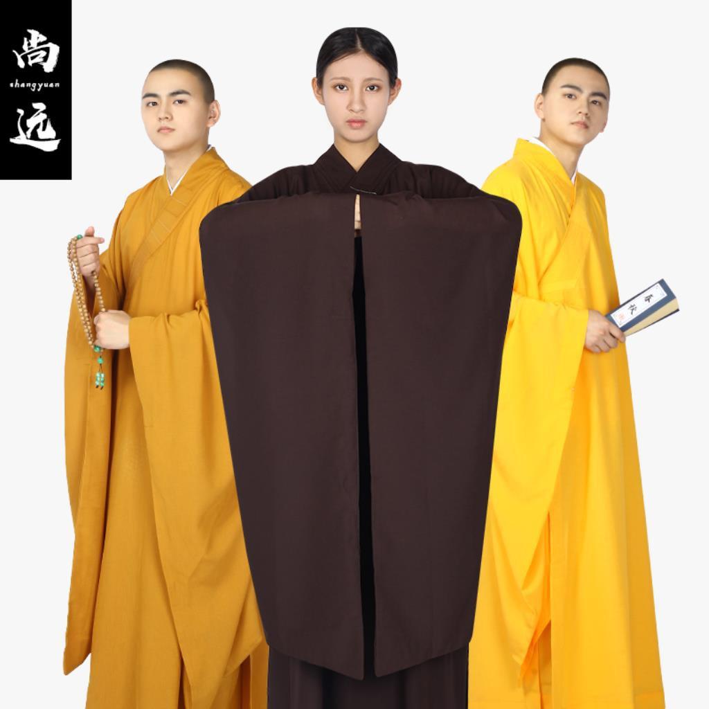 現貨 廣袖海青臺灣麻紗大袖海青居士服佛教服飾法會僧服禪修服 | 蝦皮購物