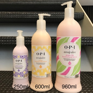 [貝兒代購]OPI Avojuice 薰衣草果浴乳液 手部&身體乳 250ml 600ml (AVL08) | 蝦皮購物