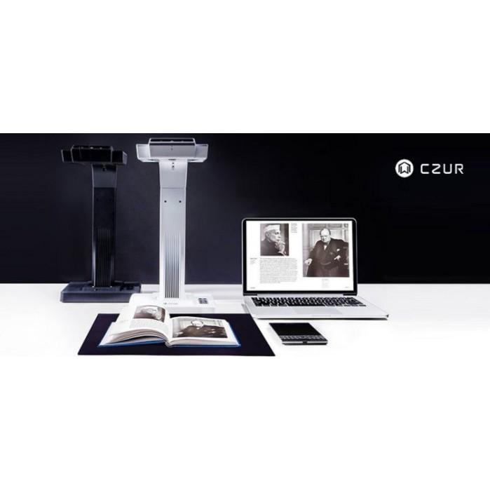 CZUR 掃描書本機 成者掃描儀 掃書快速 不用拆書 快速掃描 ET16 PLUS | 蝦皮購物