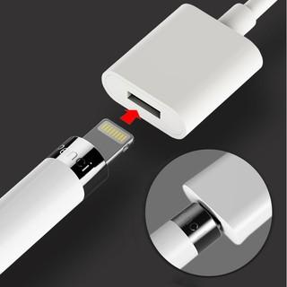AppleMAN┃Apple pencil 充電延長線 lightning母頭 USB 傳輸線 轉接線 轉接頭 | 蝦皮購物