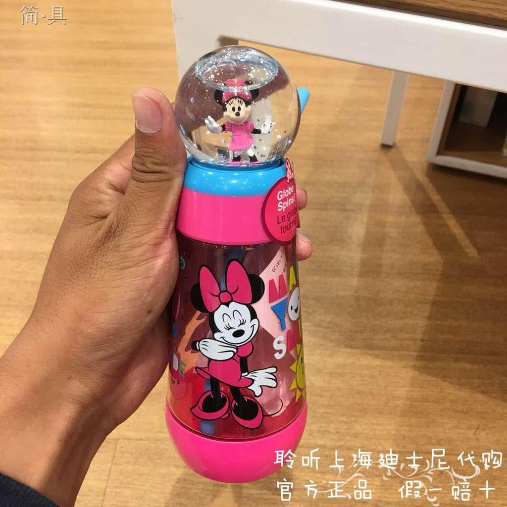 《現貨499免運》上海迪士尼國內代購冰雪奇緣愛莎米妮美人魚麥昆吸管杯喝水杯杯子 | 蝦皮購物