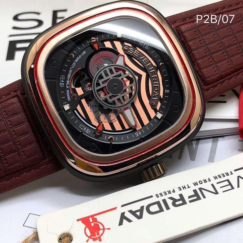 新店特惠 實拍現貨 SevenFriday七個星期五 P2B/07中國風 限量版 西安款 自動機械男錶 回頭率高人氣旺 | 蝦皮購物