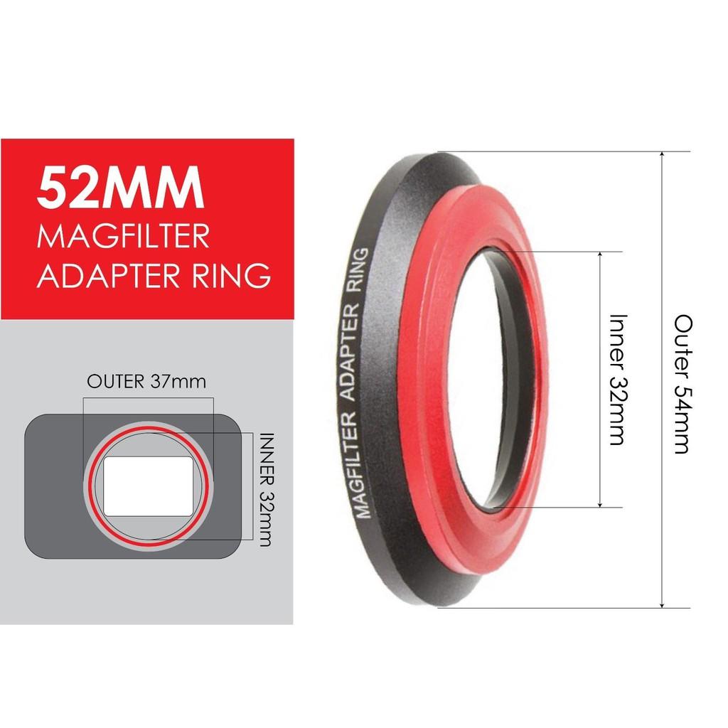 52mm 濾鏡鏡頭濾鏡 MagFilter Sony RX100 I II III IV V磁吸轉接環原廠配件+2個磁貼 | 蝦皮購物