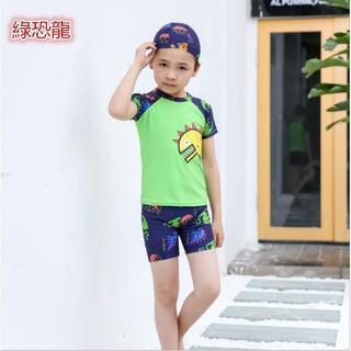 卡通兒童泳衣三件套男童泳衣可愛兒童泳衣 兒童泳裝 泳衣泳褲 幼兒寶寶泳裝5233[孩子的天性]43 | 蝦皮購物