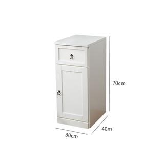 30cm實木質夾縫收納櫃子抽屜式置物架家用儲物收納箱簡約縫隙窄櫃【樂業淘淘】 | 蝦皮購物