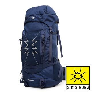 【SAMSTRONG】雙肩登山背包 40L『深藍』 B0050 | 蝦皮購物