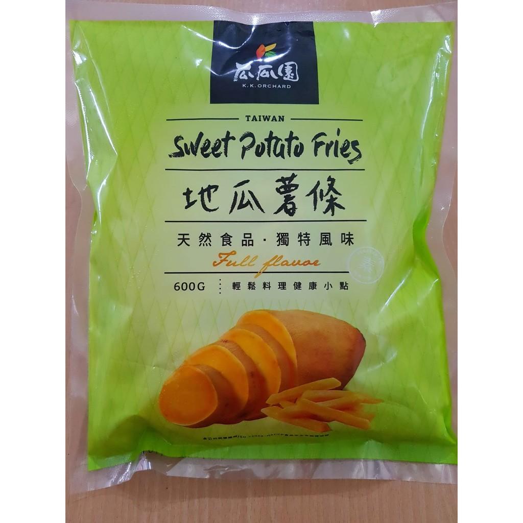 瓜瓜園地瓜薯條(600公克 / 3公斤)/包 | 蝦皮購物