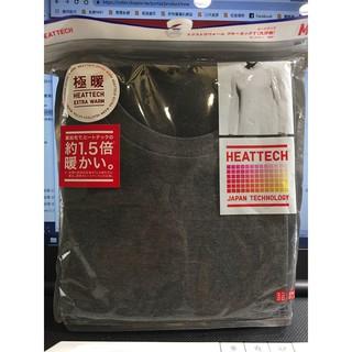 現貨在臺 日本直購優衣庫uniqlo 極暖1.5倍 發熱衣 男 heattech extra warm 出清 | 蝦皮購物