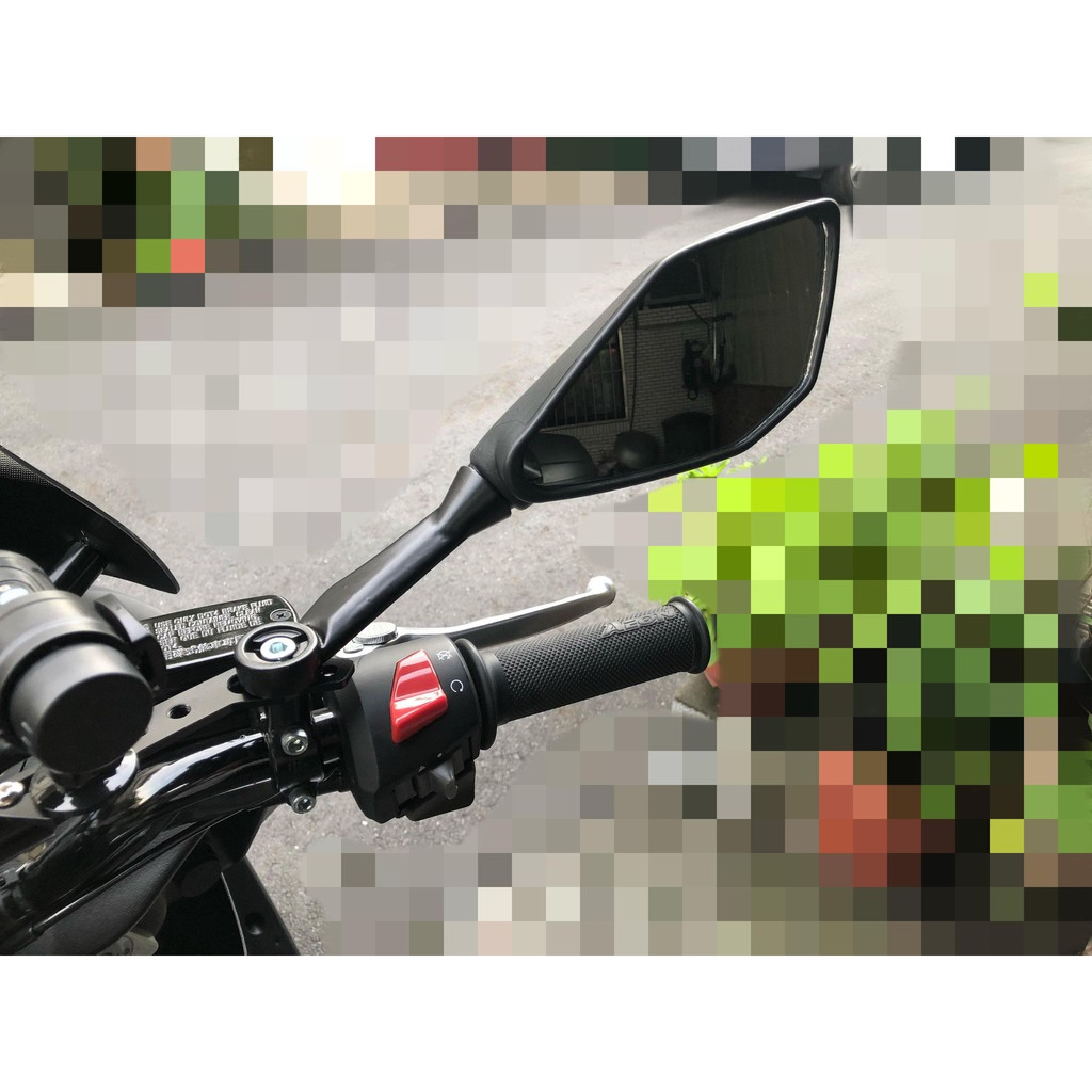 忍者 6R 後照鏡 後視鏡 速可達 裸把 DRG SMAX NMAX force bws 另類前移 加大鏡片   蝦皮購物