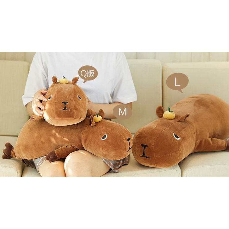 LIV HEART水豚公仔 水豚玩偶 水豚娃娃 情人節禮物 情人節娃娃 | 蝦皮購物