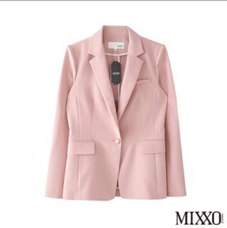 MIXXO 正版水藍色休閒西裝外套 | 蝦皮購物
