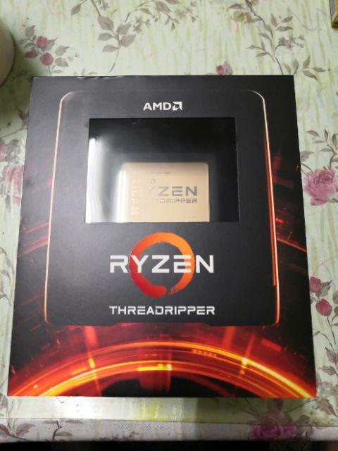 AMD Threadripper 3960X線程撕裂者 盒裝CPU處理器 可用2990WX貼我換   蝦皮購物