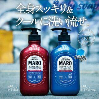 日本進口【MARO】男用 洗顏 全身用 沐浴乳 / 控油 洗髮精   蝦皮購物