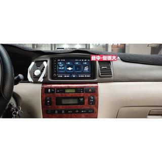 現貨 全新 豐田 toyota altis 2003-2007 九代 汽車 音響 主機 改裝 框 2din 七寸   蝦皮購物