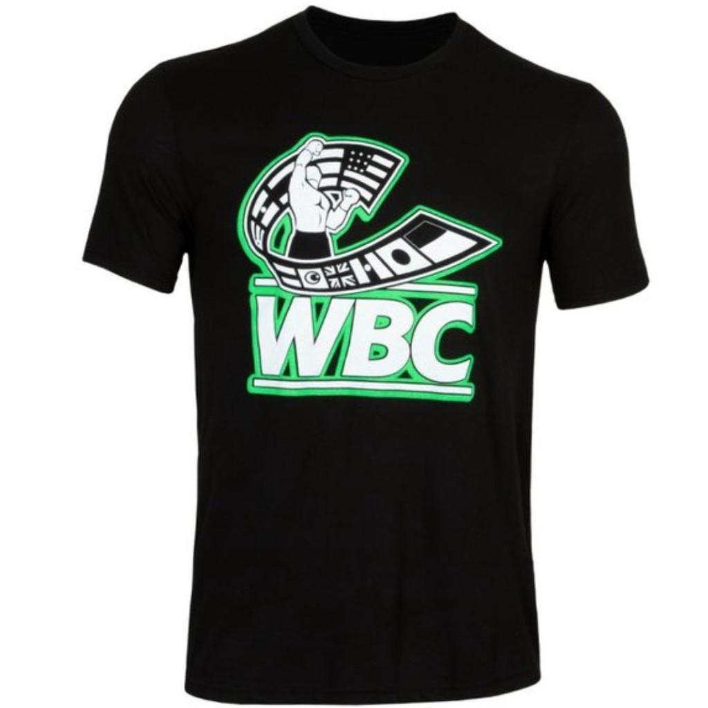 [麥造拳擊] WBC X Title 聯名 拳擊/Boxing/經典/Logo/短袖 黑色短T | 蝦皮購物