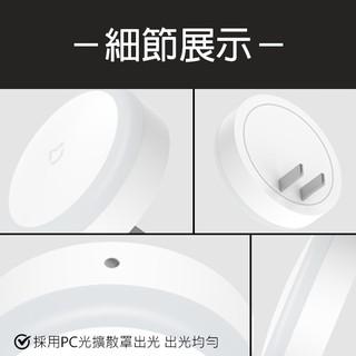 【coni shop】米家插電夜燈 現貨 當天出貨 夜燈 小米有品 照明 觸控開關 自動亮燈 雙孔插電 即插即用 | 蝦皮購物