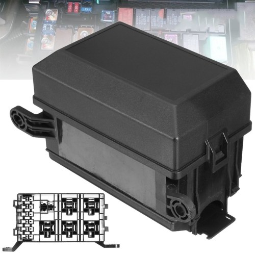 small resolution of black 6 ways replacement waterproof car easy installation relay holder universal standard blade accessories fuse box