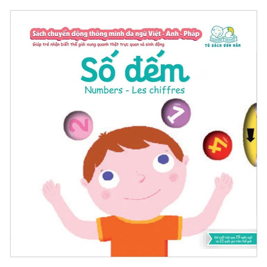 Sách - Sách Chuyển Động Thông Minh Đa Ngữ Việt - Anh - Pháp: Chúc Bé Ngủ Ngon \u2013 Good Night - Bonne Nuit | Shopee Việt Nam