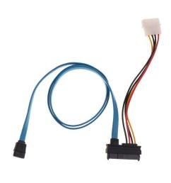 7 pin sata serial ata to sas 29 pin 4 pin cable male connector adapter [ 1024 x 1024 Pixel ]