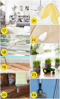 65 Spring Cleaning Tips and Ideas