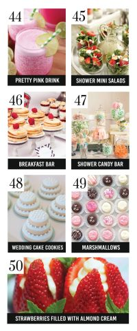 Trubridal Wedding Blog | 150 Bridal Shower Ideas ...