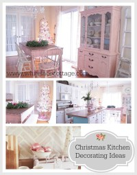 Christmas Kitchen Decorating Ideas - White Lace Cottage