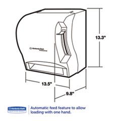 BettyMills: IN-SIGHT* LEV-R-MATIC* Roll Towel Dispenser