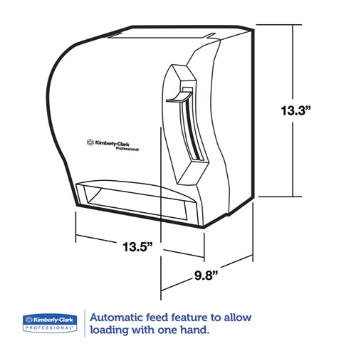 BettyMills: IN-SIGHT* LEV-R-MATIC* Roll Towel Dispenser