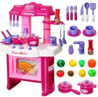 Big Kitchen Cook Set For Kids Pretend Play Toy, price ...