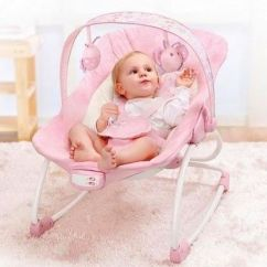 Pink Toddler Rocking Chair Frontgate Linen Upholstered Dining Chairs Mastela Newborn To Rocker 6905 Souq Uae