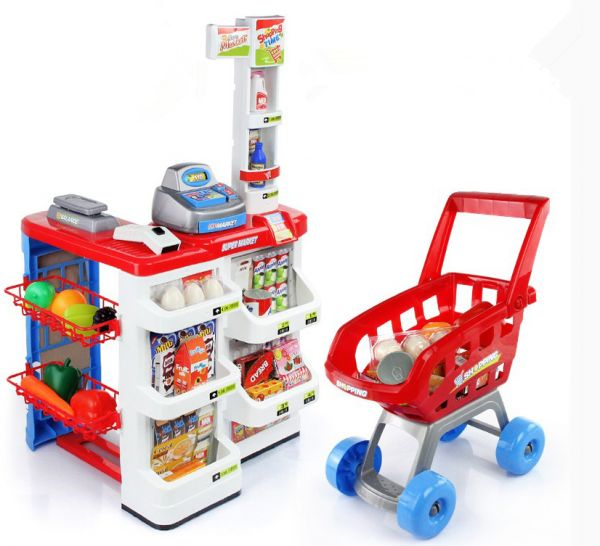 Children Toy Carts Shopping