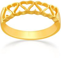 Malabar Gold Women's 22K Band Gold Ring