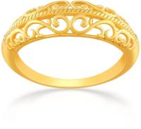 Buy Malabar Gold Women's 22K Band Gold Ring