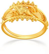 Buy Malabar Gold Women's 22K Promise Gold Ring
