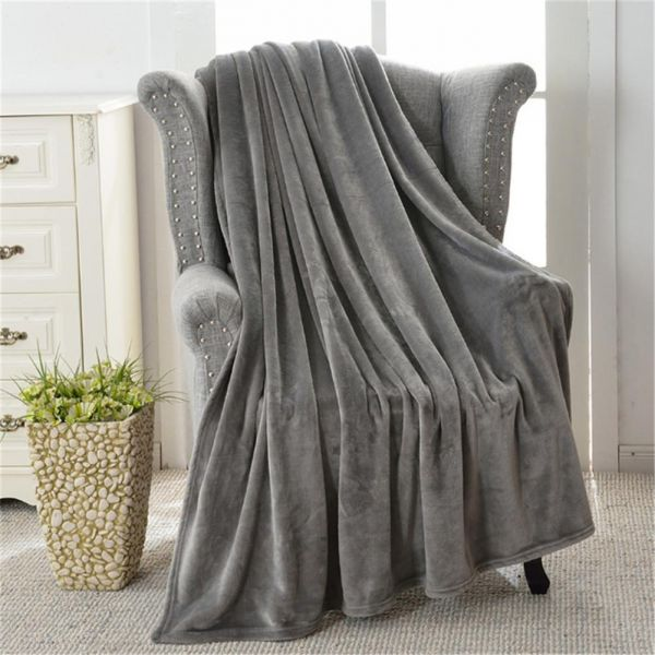 fuzzy sofa rv air mattress flannel fleece throw blankets warm microfiber blanket for bed or souq uae