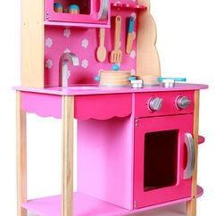 Kids Wooden Kitchen Redesigning A Play Set Toy Souq Uae