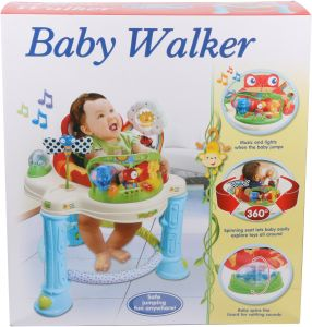 walker bouncing chair pretty office chairs uk buy baby bouncer 8918843 show love mastela babytime uae rocking for unisex blue and beige 200652