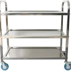 Stainless Steel Kitchen Cart Hinges Heavy Duty Free 3 Tiers Trolley Souq Uae