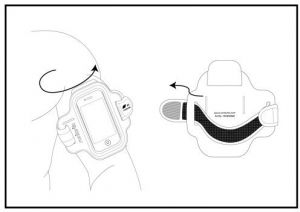 Runtastic Smartphone Sports Armband price in Pakistan at